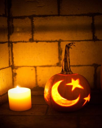 Pumpkin carving patterns and halloween