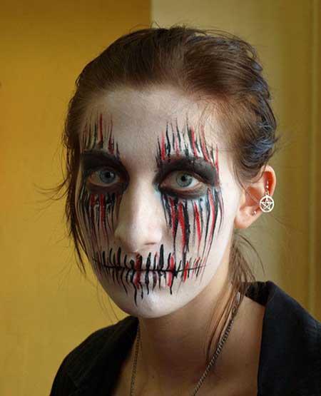 Top 20 Halloween Makeup Ideas For Women 2014