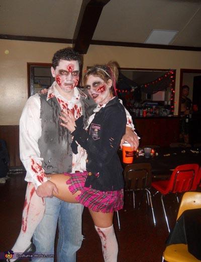 zombie couple ideas