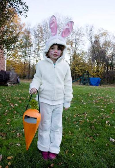 homemade bunny costume image about - Homemade Halloween Costumes Ideas For Kids