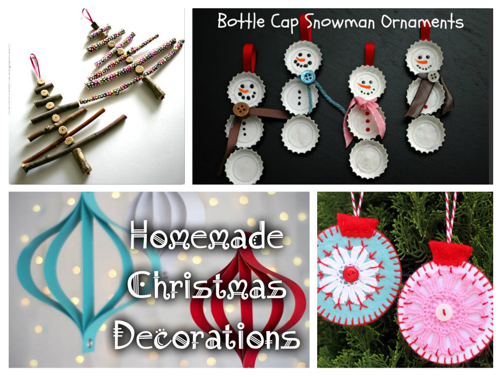 Christmas decoration ideas to make at home - Homemade Christmas Decoration Ideas