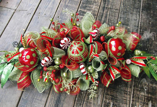 homemade christmas table decorations - Homemade Christmas Table Decorations