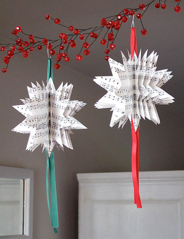 Easy homemade christmas decorations photograph homemade pa for Decoration paper