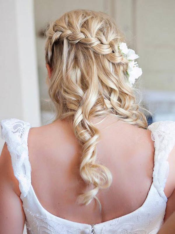 braid styles with curly hair beautiful and easy braided hairstyles for different types 8924