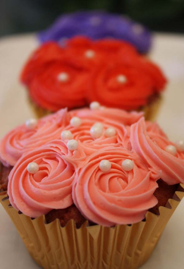 cute valentines day cupcakes recipes and decorating ideas - Valentines Cupcakes Ideas
