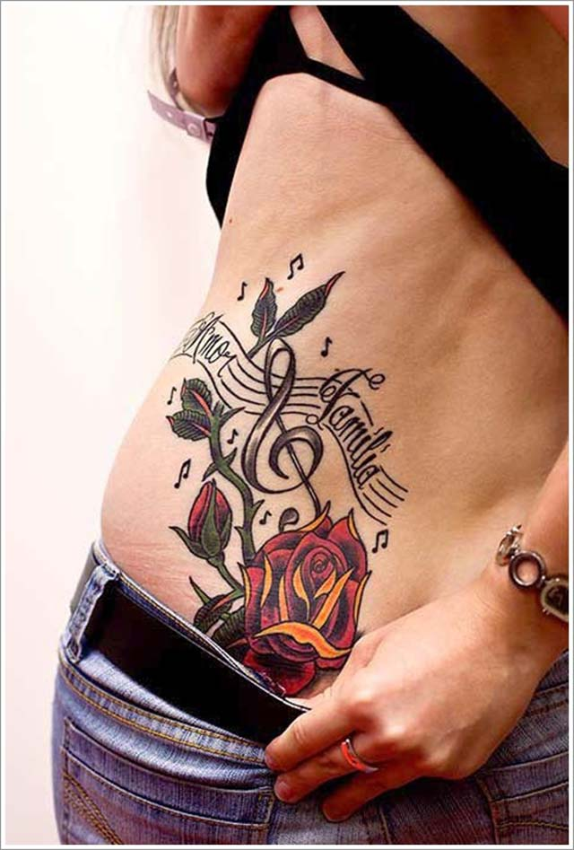 rose-tattoo-designs-rose-with-musical-elements-tattoo