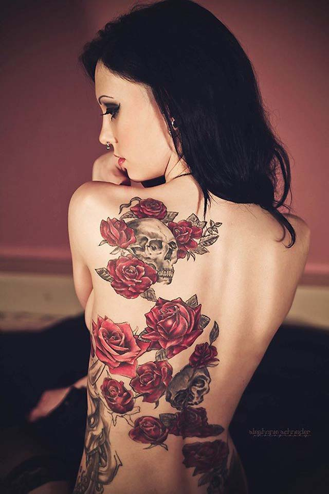 rose-tattoo-designs-rose-with-skull-tattoo