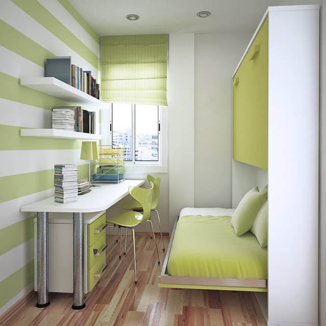 small-bedroom-decorating-using-built-in-bed