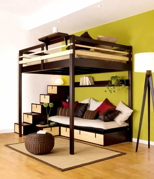small-bedroom-decorating-using-earth-tone-shades