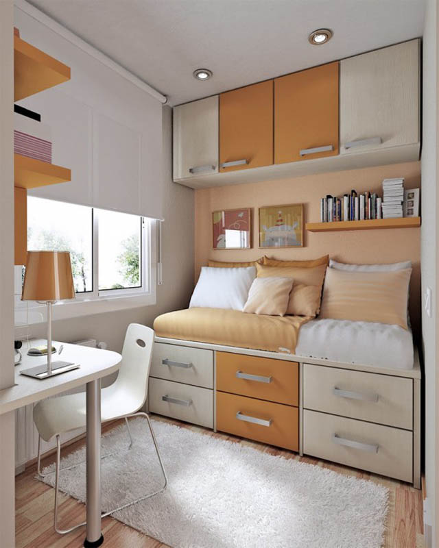 small-bedroom-decorating-with-lots-of-cabinets