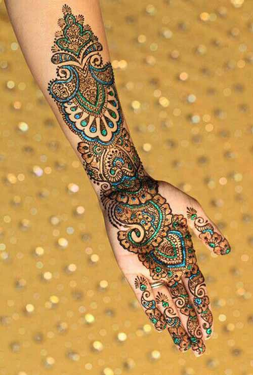 Mehndi Designs Pinterest: 50 Beautiful Mehndi Designs And Patterns To Try!
