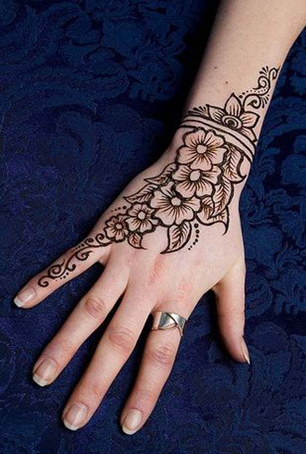 Henna Stencils: 50 Beautiful Mehndi Designs And Patterns To Try!