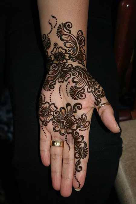 black-mehndi-designs