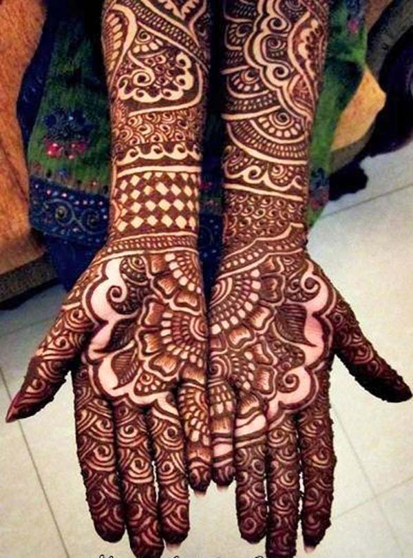 Mehndi Design For Marriage : Beautiful mehndi designs and patterns to try random