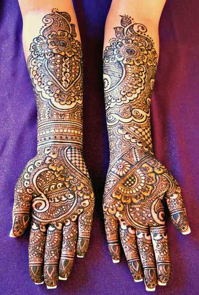 Mehndi Patterns For Brides : Beautiful mehndi designs and patterns to try random