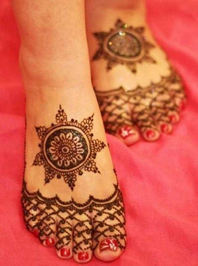 Mehndi Simple Designs For Foot : Beautiful mehndi designs and patterns to try random