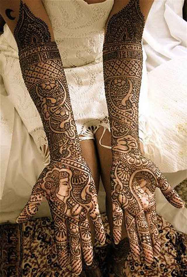 Full Arm Mehndi : Beautiful mehndi designs and patterns to try random