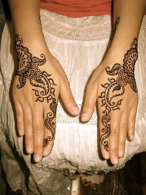 50 beautiful mehndi designs and patterns to try random talks. Black Bedroom Furniture Sets. Home Design Ideas
