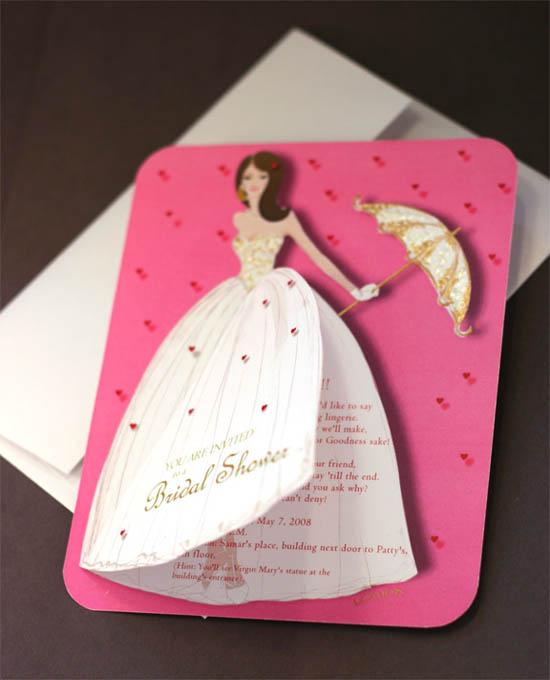 20 Lovely Bridal Shower Invitation Ideas Random Talks