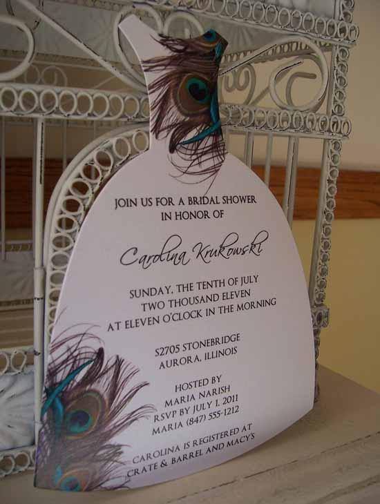 20 Lovely Bridal Shower Invitation Ideas - Random Talks
