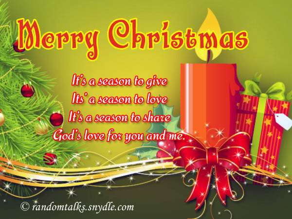 free merry christmas greeting cards