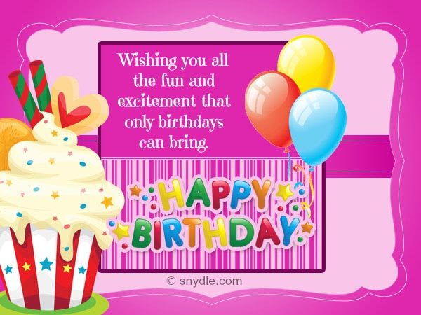 Online Happy Birthday Cards gangcraftnet – Online Photo Birthday Cards