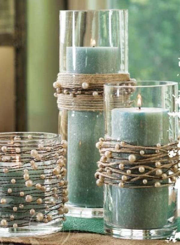 elegant-christmas-candle