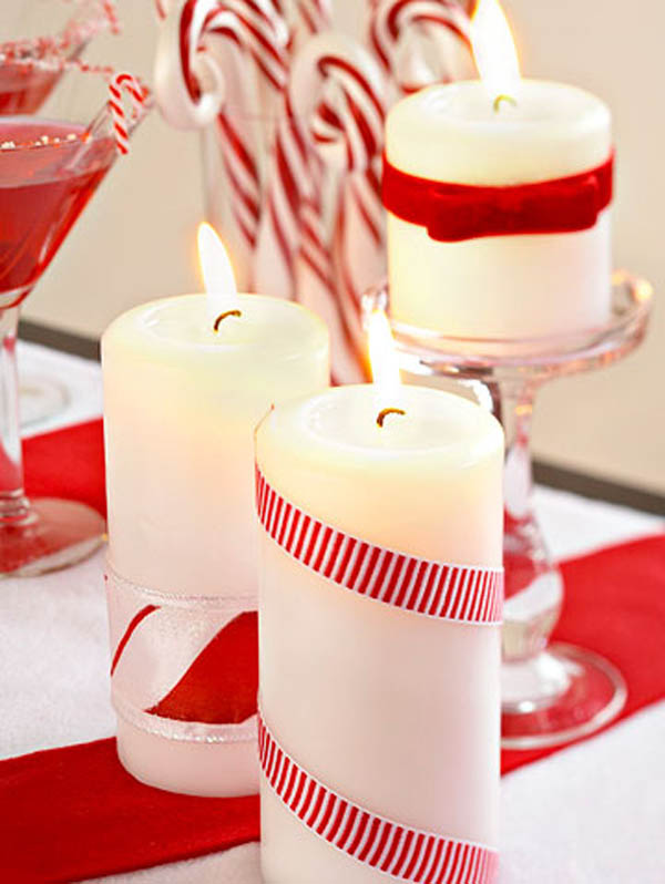 ribbon-wrraped-christmas-candle