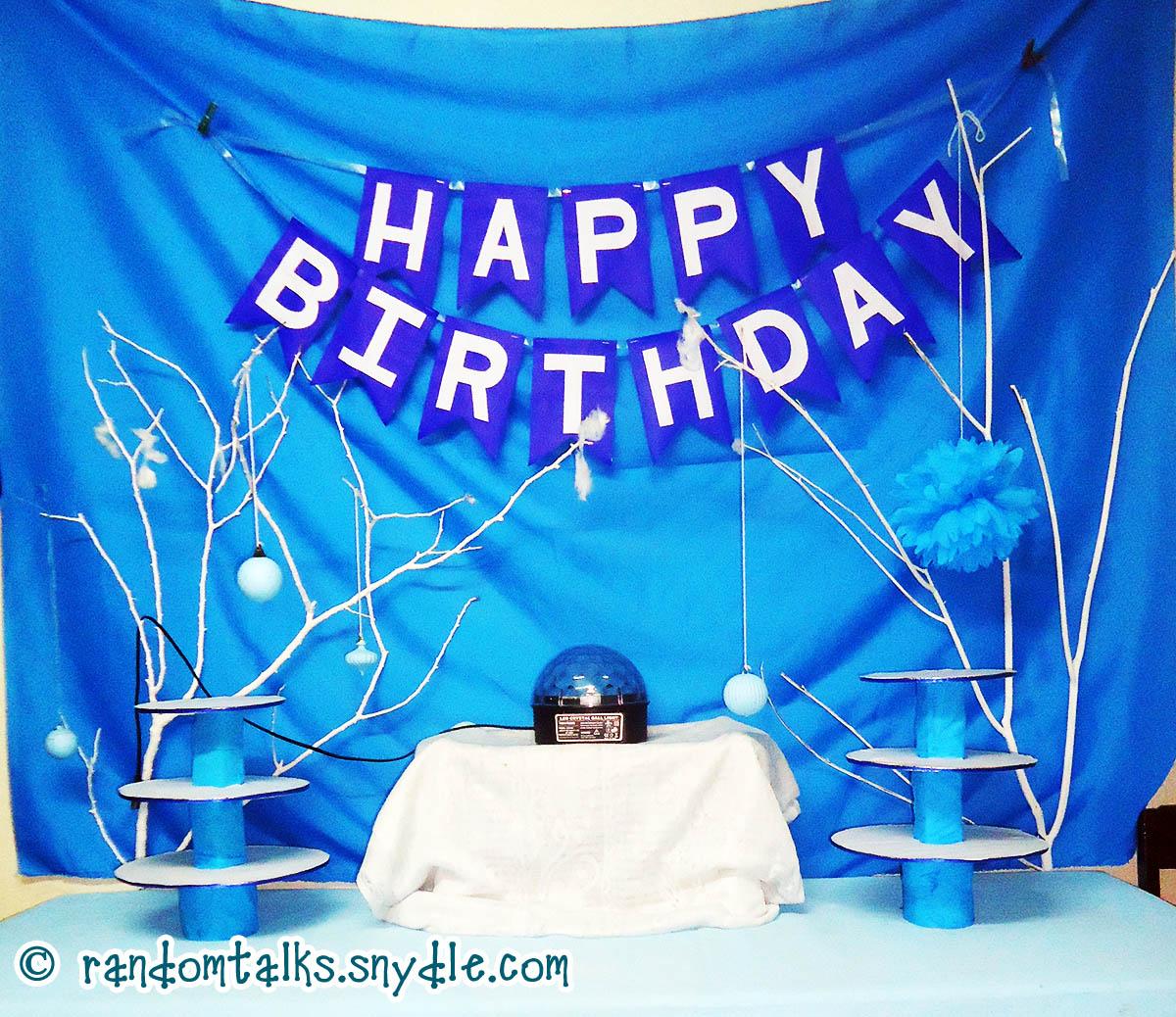 My Frozen Birthday Party Ideas Under $100  Random Talks ~ 011707_Birthday Party Ideas Under $100