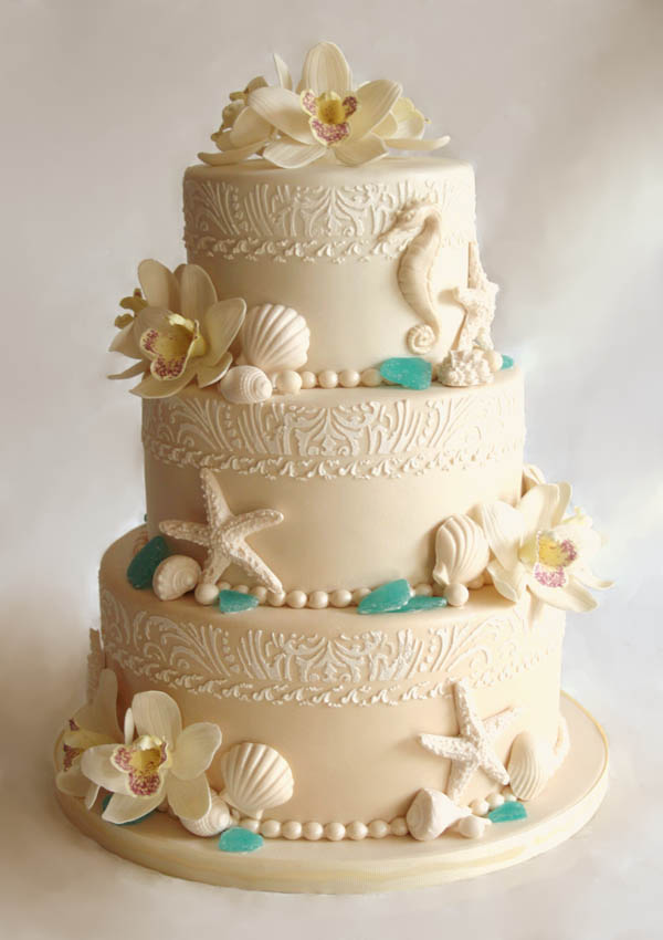 beach-wedding-cakes