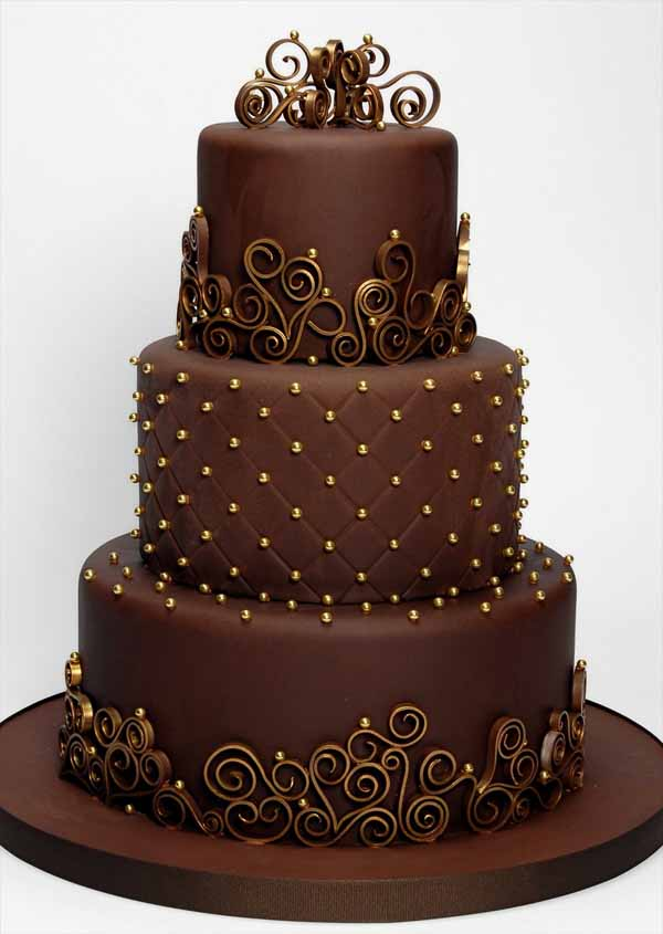 chocolate-wedding-cakes