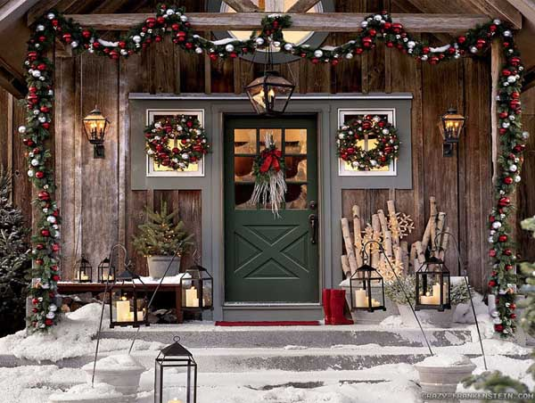 breathtaking outdoor christmas decorations for some holiday cheer - Classic Outdoor Christmas Decorations