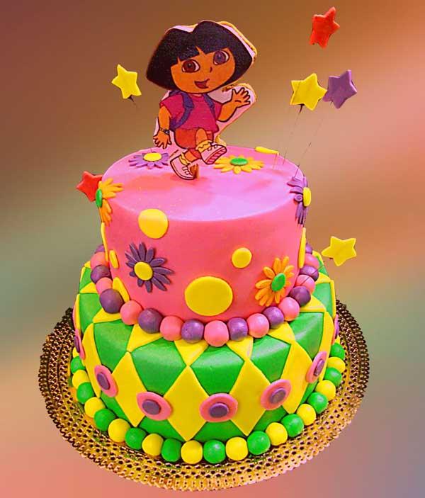 dora-birthday-cakes