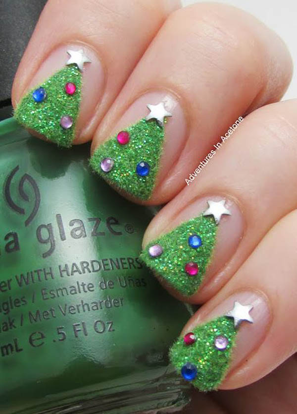 easy-christmas-nail-art-ideas