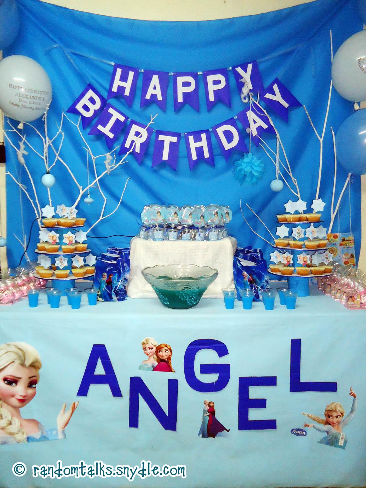 My Frozen Birthday Party Ideas Under $100 - Random Talks