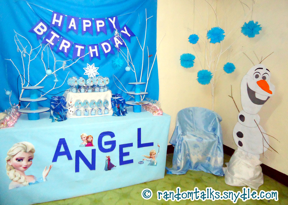 Birthday Theme Decoration Ideas Part - 32: Frozen-birthday-party-decoration-ideas