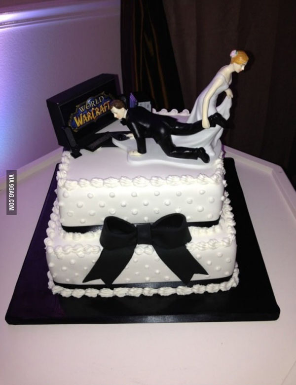 22 wedding cake ideas and wedding cake designs with pictures funny wedding cakes junglespirit Image collections