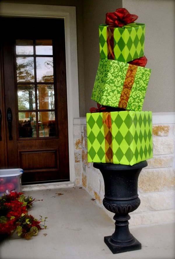 handmade-outdoor-christmas-decorations
