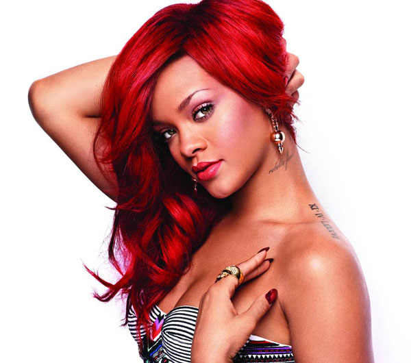 rihanna-red-hairstyles