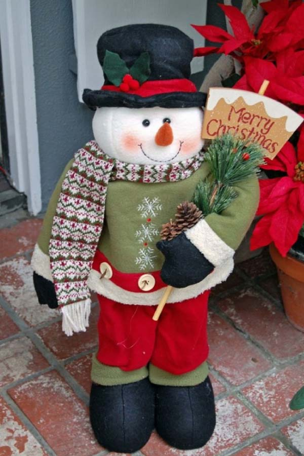 snowman-outdoor-christmas-decorations