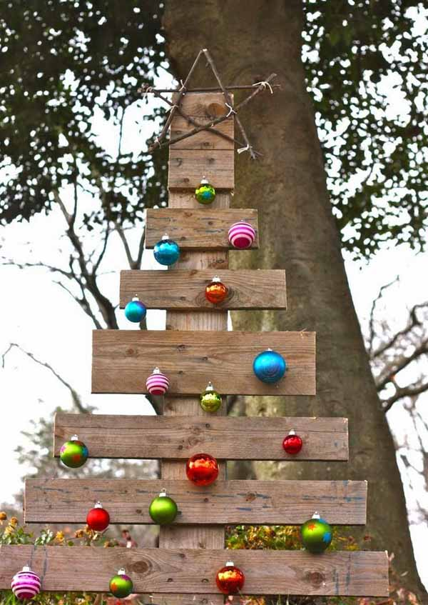 wooden-outdoor-christmas-decorations-ideas