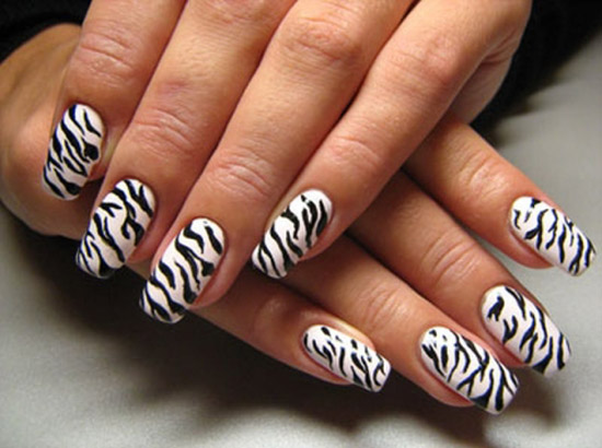 zebra-nail-design-ideas