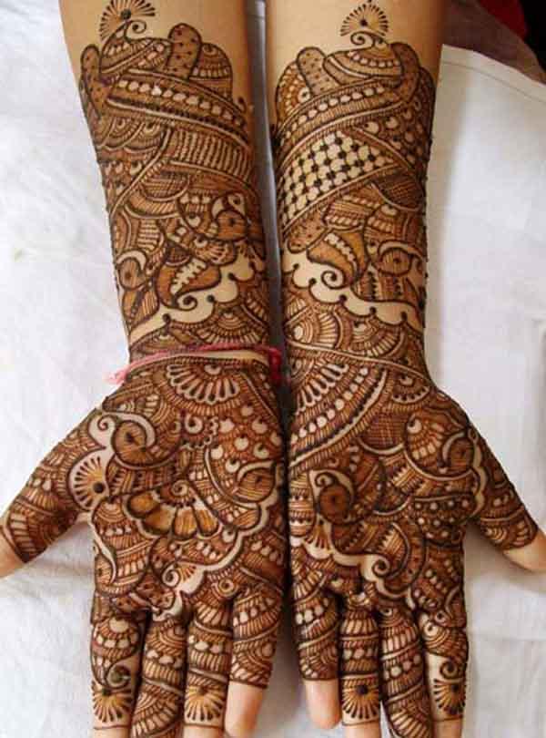 50 Spectacular Arabic Mehndi Designs You'll Love! – Random ...