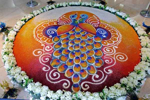 22 Magnificent Rangoli Designs For Diwali