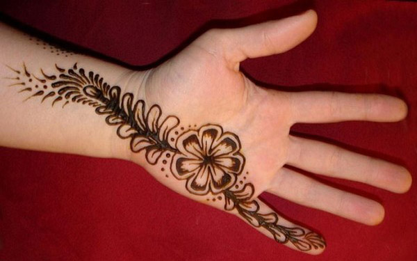 Mehndi Easy Design : Easy mehndi designs for beginners to try random talks