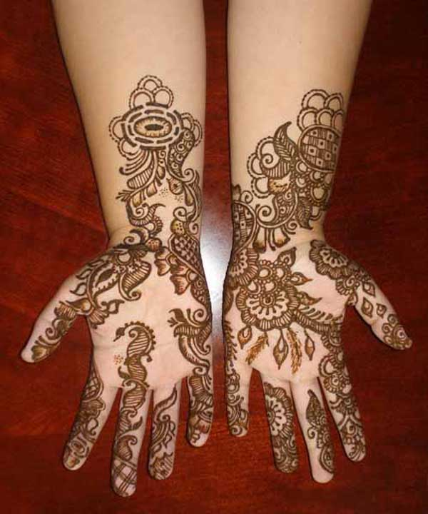 Special Arabic Henna Designs 2012