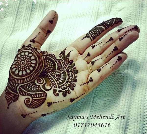21 Wonderful Pakistani Mehndi Designs For Pakistani ...