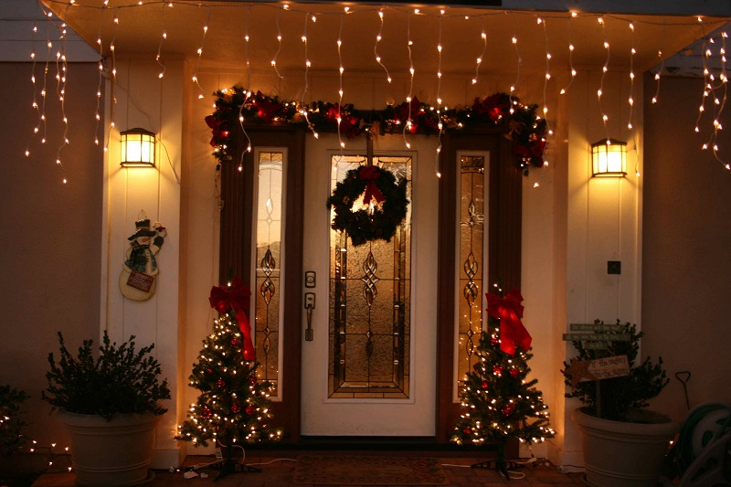 Designer Christmas Front Door Christmas Decorations. Design Christmas  Decoration