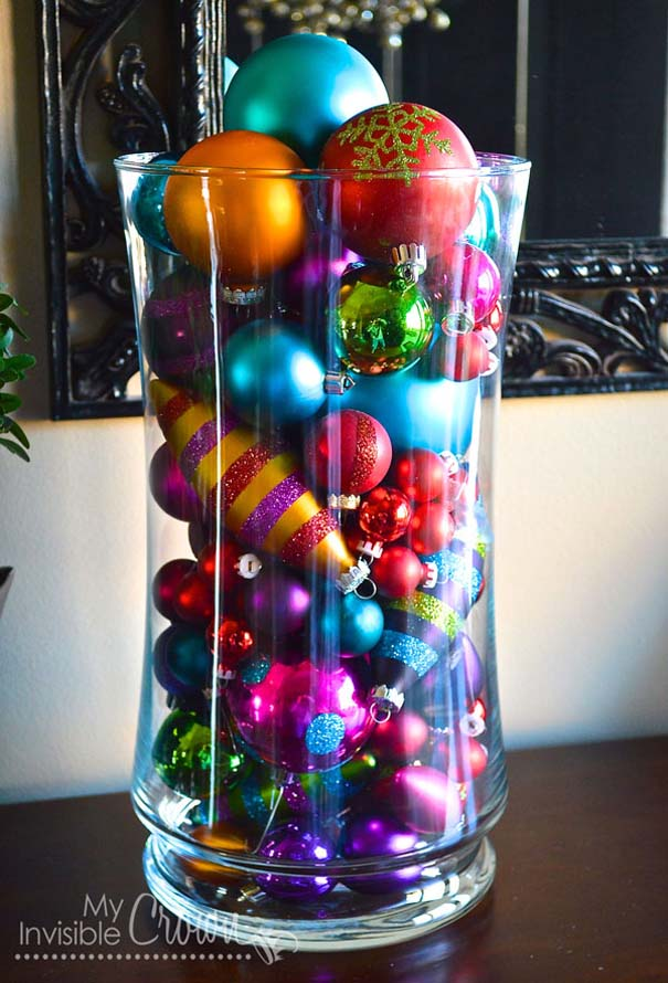 50 Easy DIY Christmas Decorations That You Can Actually ...